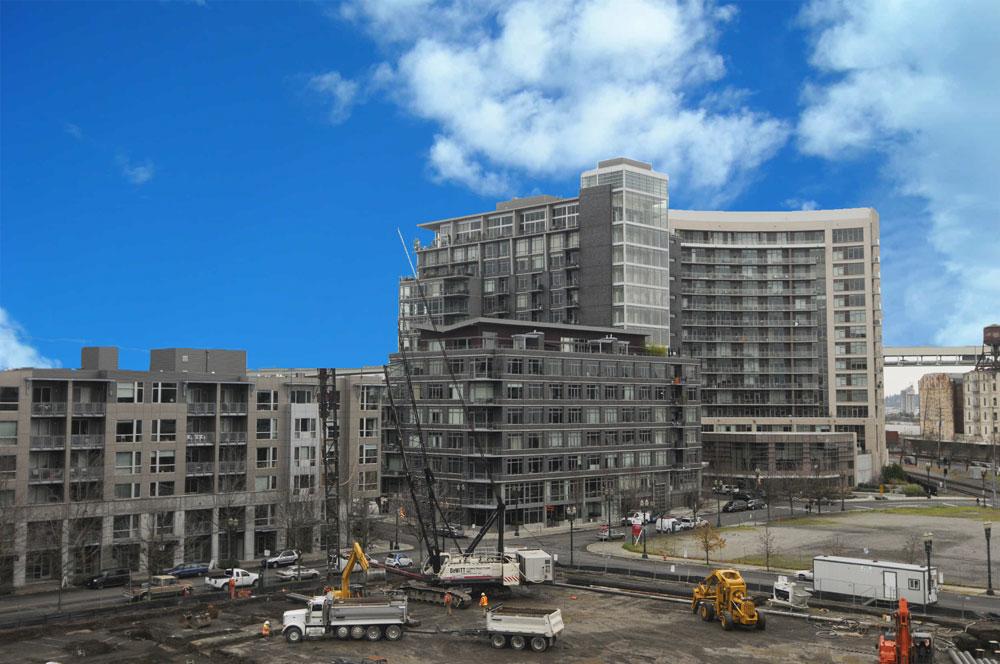 Hotel en construcción